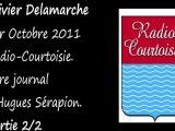 Olivier Delamarche Radio Courtoisie 1 Octobre 2011 (2/2)