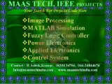 EEE PROJECTS(ELECTRICAL PROJECTS)B.TECH/B.E(IEEE BASED ELECTRICAL PROJECTS)MAASTECH