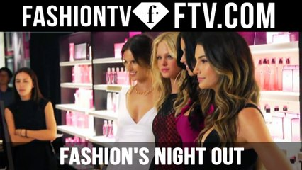 Victoria's Secret Angels @ Fashion's Night Out New York Fashion Week Spring 2012 | FTV.com