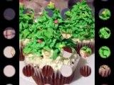 Cupcake Ideas: Christmas Tree Cupcakes