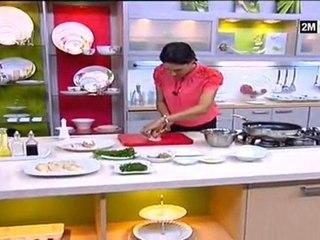 Choumicha Cuisine - Blanc de Poulet farci et frit