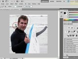 How to use lasso selection tools in Photoshop CS5