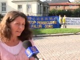 """""""He'll Face Torture in China"""": Swedes Protest Against Deportation of Falun Gong Adherent in South Korea"""