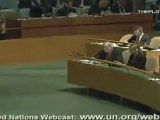 Discours intégral du Président de l'IRAN-Mahmoud Ahmadinejad-ONU 2011 - 1de2 - YouTube