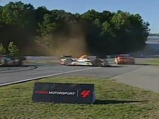 ALMS, Road Atlanta 2011 - GT,LMPC Accident
