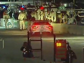 ALMS, Road Atlanta 2011 - BMW, Ferrari damage problems