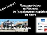 Flashmob de l'enseignement supérieur du Havre