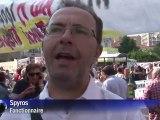 La Grèce en grève, manifestations à Athènes contre l'austérité