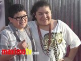Rico Rodriguez and Raini Rodriguez at REAL STEEL Los Angeles Premiere