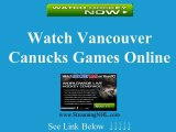 Watch Canucks Game Online | Vancouver Canucks Game Live Streaming