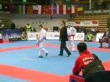 Finale Kumite Garçon Junior -60Kg - Championnats d'Europe de Karaté Cadet/Junior 2008