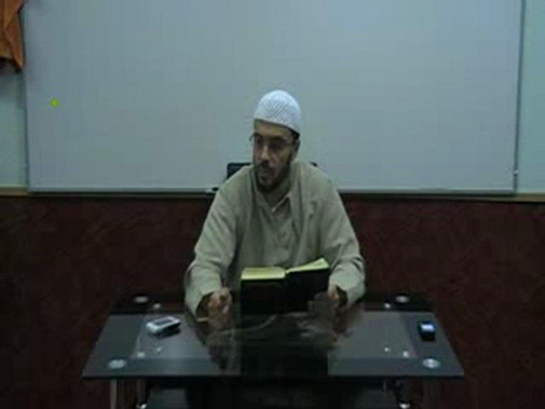 الشيخ أبو حفص - تفسير سورة فاطر الدرس 4 الجزء 1