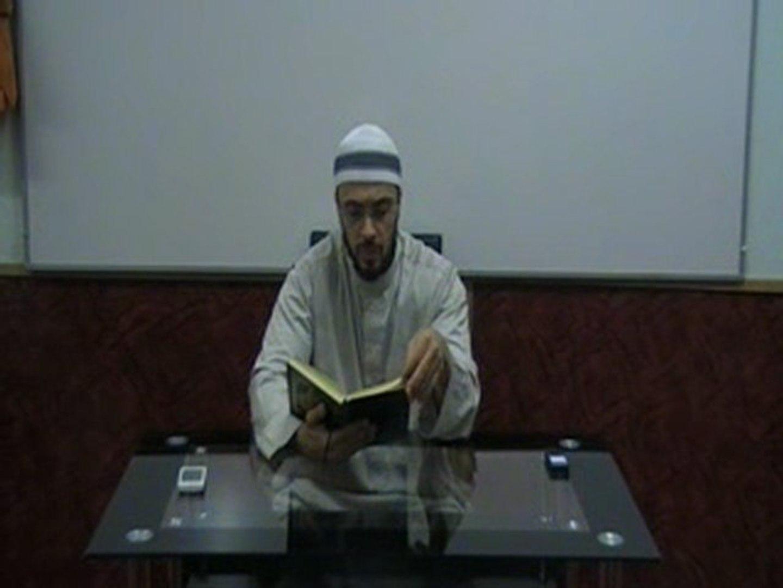 الشيخ أبو حفص - تفسير سورة فاطر الدرس 6