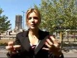 Eugenia Suárez en una escena de riesgo