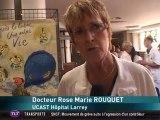 Journée anti-tabac à l'hôpital Larrey  (Toulouse)