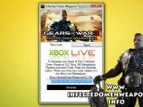 Download Gears of War 3 Infected Omen Weapons DLC Free on Xbox 360