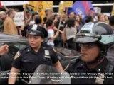 Gli Indignados bloccano il ponte di Brooklyn