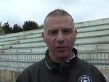 CFA :  UJA / FCM Aubervilliers, Interviews de  Carlos Moreira et Christophe Taine