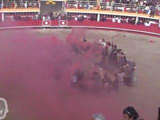 Rassemblement anti corrida arène rodilhan (08.10.11)
