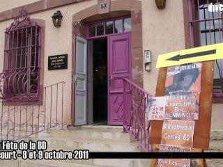 Fête de la BD à Audincourt, 8 et 9 octobre 2011