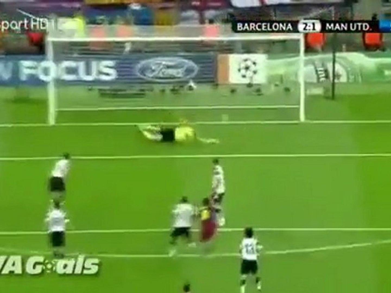 Bóng Ðá _ - Video clip - Man United 1-3 Barcelona - Bong da
