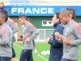 Foot : Nasri attendu lors du match France-Bosnie