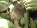 GARRIGUES. MICHEL CATS (MUSIQUE EN GARRIGUES)  ET SAM BURTON( DUOFMBLOO