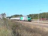 BB 75448 sur une marche d'essais à Port d'Atelier