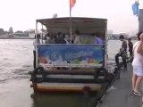 Boats Chao Phraya River Bangkok