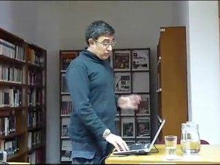 Taller de literatura e Internet por JJ Merelo en el CCELima