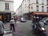 BSPP, ps 3g splv epa fpt (  sévigné )  rue des Francs  Bourgeois,  rue de Turenne   paris 4