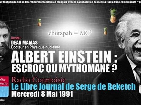 L'Escroquerie d'Einstein: la Relativité de Poincaré (Radio Courtoisie, 1991/05/08)