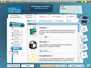 NumeriCle91 v3 : le cartable numérique des collégiens de l'Essonne, rentrée 2011
