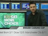 Wednesday Carling cup