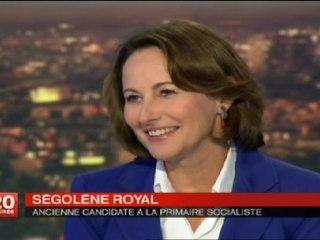 Royal soutient Hollande