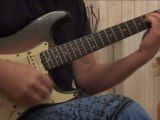 Fender Stratocaster 1961 -   this electric guitar is first an accoustic one - Mario Vilas
