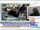 """NTN24 habla con los organizadores de la marcha mundial de """"indignados"""" el 15 de Octubre"""