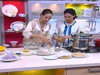 Recette seffa marocaine et couscous du maroc aid kebir 2011