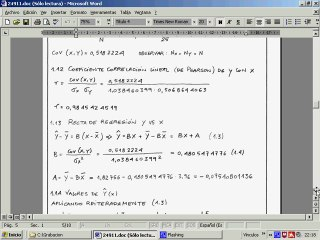 Estadística/Ejercicios regresión y correlación/24911/1