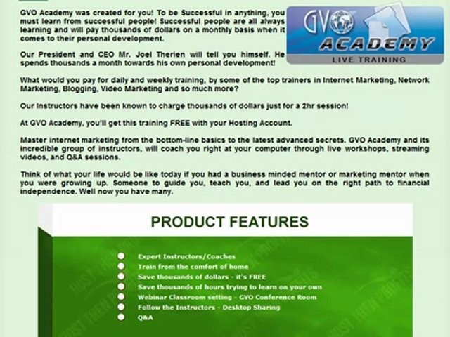 GVO Host Then Profits Profit Review – How To Make Money Online Fast – Internet Marketing