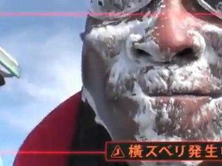 """スティーブン・ヘインズ New TVCM for Shick 3 """"Kiretenai"""""""
