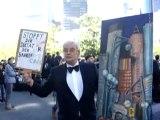 Occupy Frankfurt - occupy Mainhattan - Demonstration am 15.10.2011 zur  EZB -  Europäische Zentralbank in Frankfurt am Main - EZB -