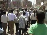 Al menos 5 muertos en la represión de las protestas...