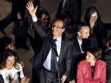 François Hollande : candidat socialiste à l'élection présidentielle