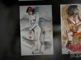 Croquis, dessins, peintures par Montoir