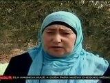 Familiares de palestinos presos esperan momento del canje