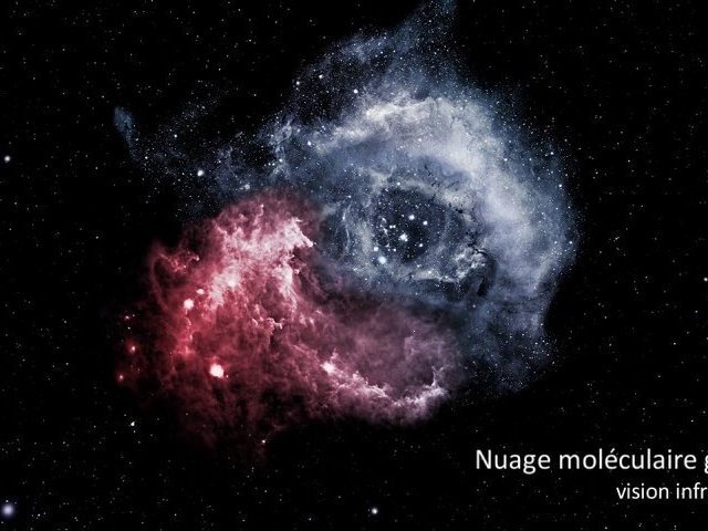 Picturing star motion - La nébuleuse de la Rosette