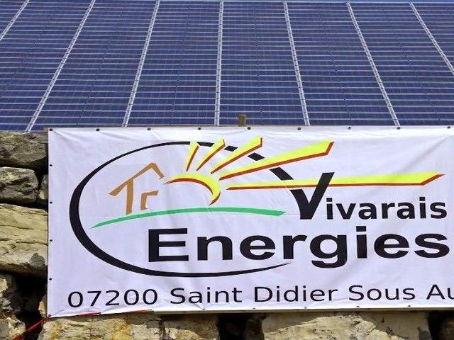 Vivarais Energies : chantier Centrale photovoltaïque par Mathieu Vignal