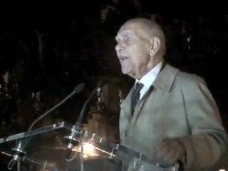 Mehdi LALLAOUI Stéphane HESSEL 17/10/11 commémoration