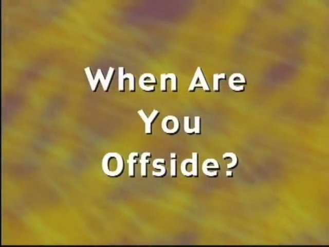 US Soccer Referee Resource Video – Offsides